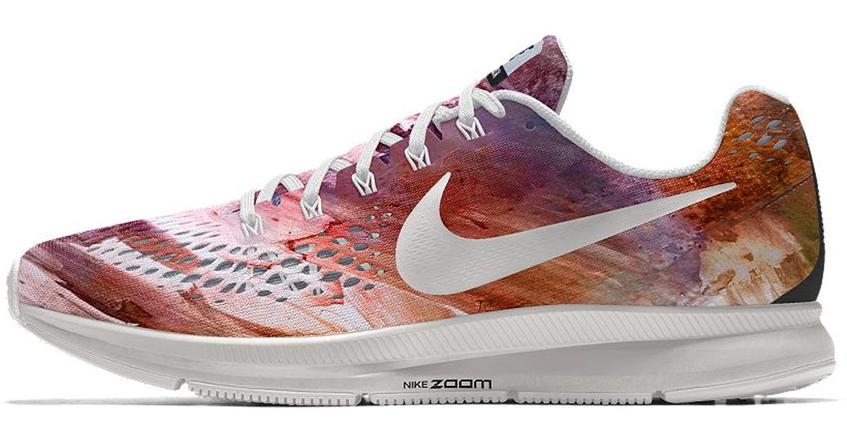 4dc6b2e19b5 Lyst - Nike Air Zoom Pegasus 34 Gpx Id Women s Running Shoe in Purple