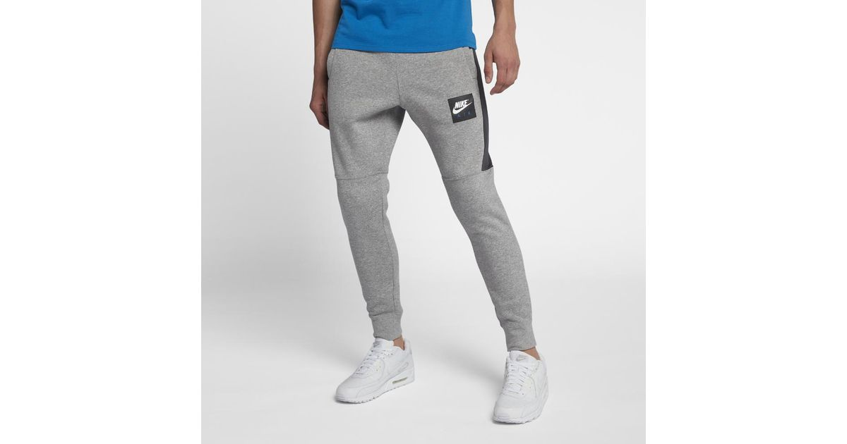 premium selection 2d358 34b65 Lyst - Nike Air Men s Fleece Joggers in Gray for Men
