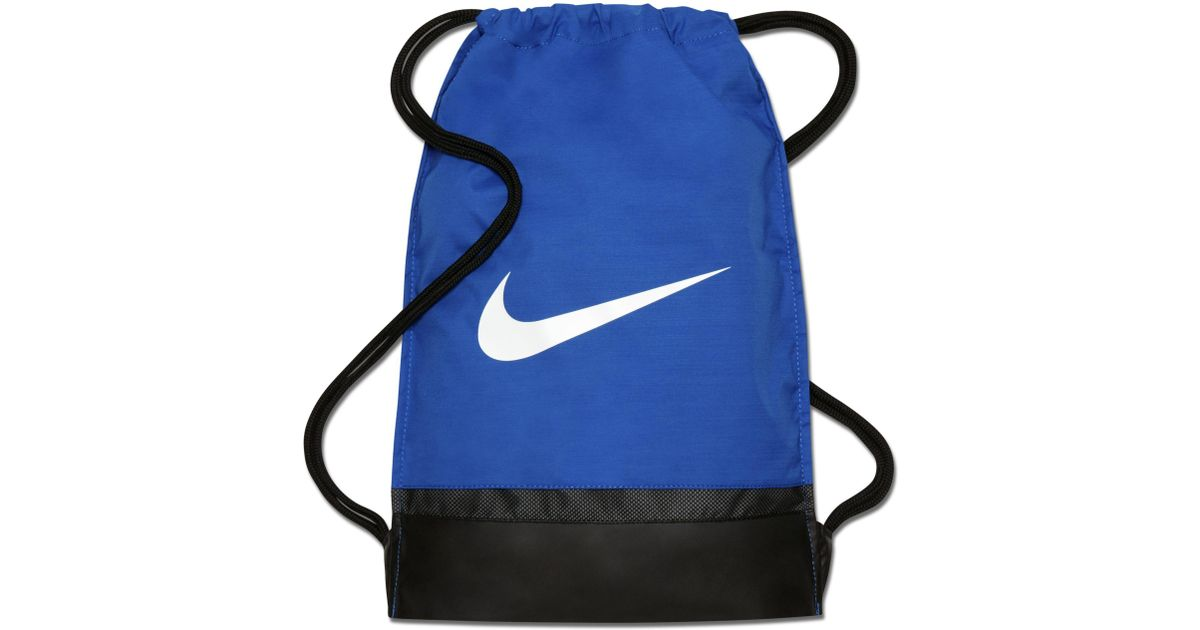 6ec0a7f190 Nike Brasilia Training Gymsack in Blue - Lyst