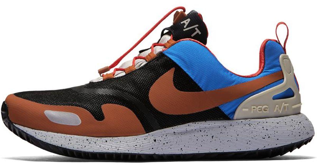 37b62e8503ec1 Lyst - Nike Air Pegasus At Winter Qs Men s Shoe in Blue for Men