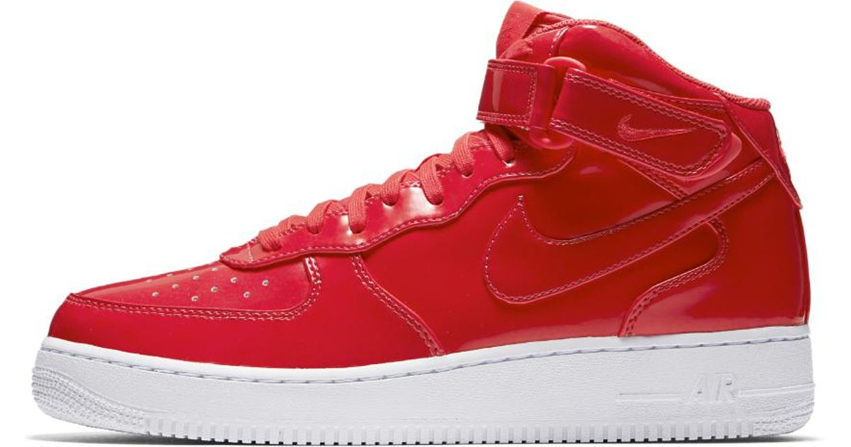 the latest 7583c d5c5f Lyst - Nike Air Force 1 Mid  07 Lv8 Uv Men s Shoe in Red for Men