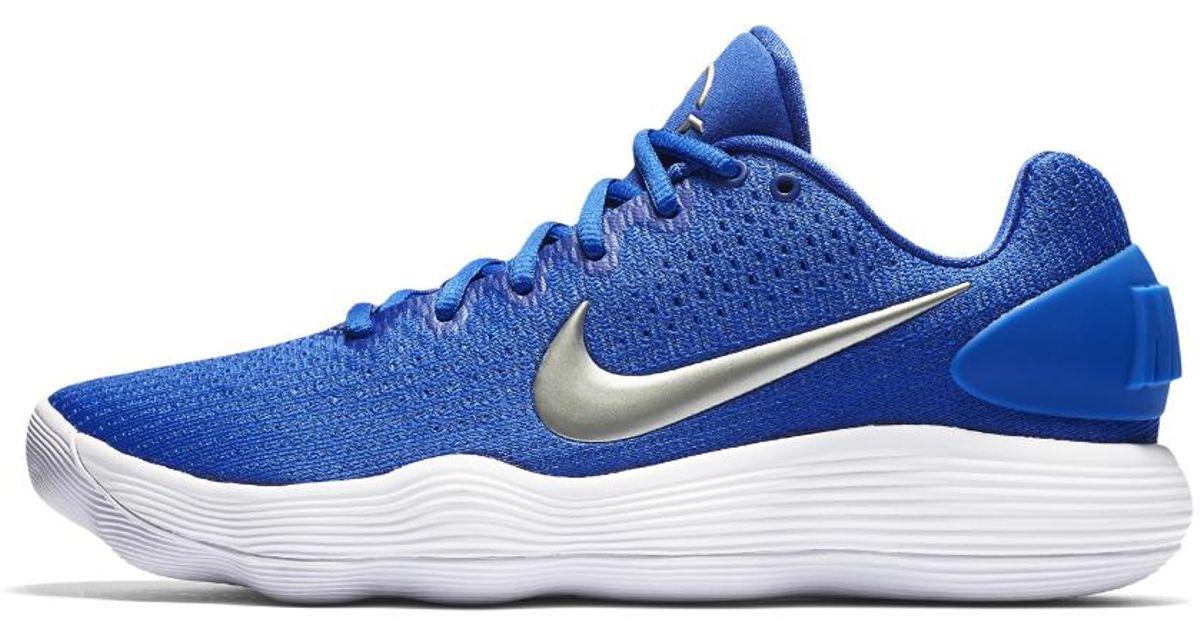 a13064e46f27 Lyst - Nike Hyperdunk 2017 Low (team) Men s Basketball Shoe in Blue for Men