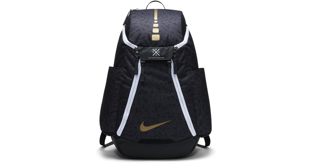 Lyst - Nike Hoops Elite Max Air Team 2.0 Graphic Basketball Backpack (black)  in Black for Men 2d4e78e64f5e8
