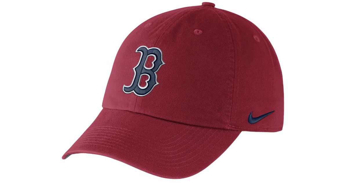 6091937b027 Lyst - Nike Dry H86 Stadium (mlb Red Sox) Adjustable Hat (red) in Red for  Men