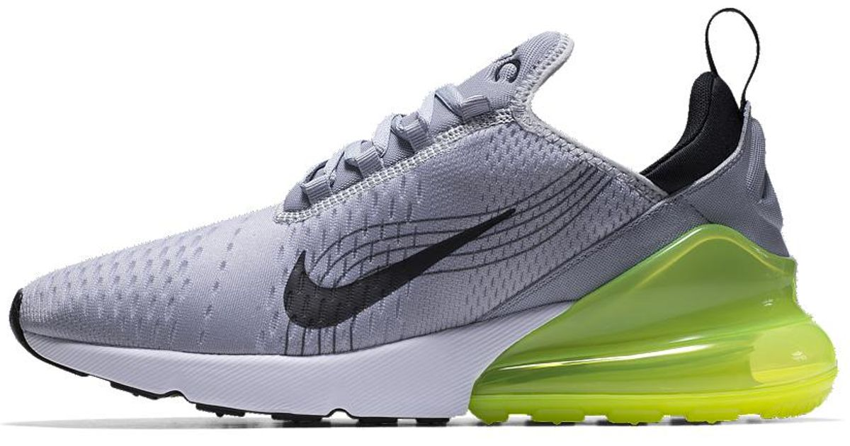 b73317c7faad Lyst - Nike Air Max 270 Premium Id Men s Shoe in Blue for Men