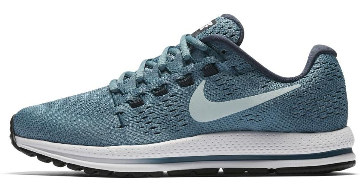 where to buy lyst nike air zoom vomero 12 womens running shoe in blue 31010  db1cb 6ca7f2155d