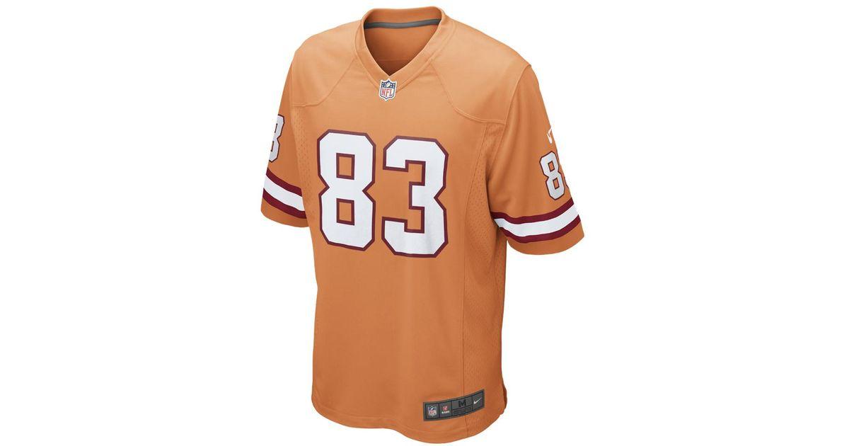 free shipping e3e3c 87247 Nike - Orange Nfl Tampa Bay Buccaneers (vincent Jackson) Men's Football  Alternate Game Jersey for Men - Lyst