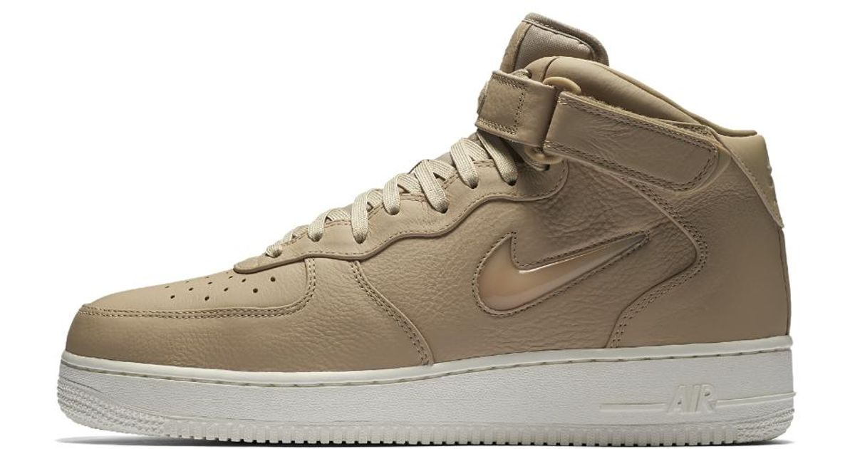 02e5c2bf5b Lyst - Nike Air Force 1 Mid Jewel Men's Shoe for Men