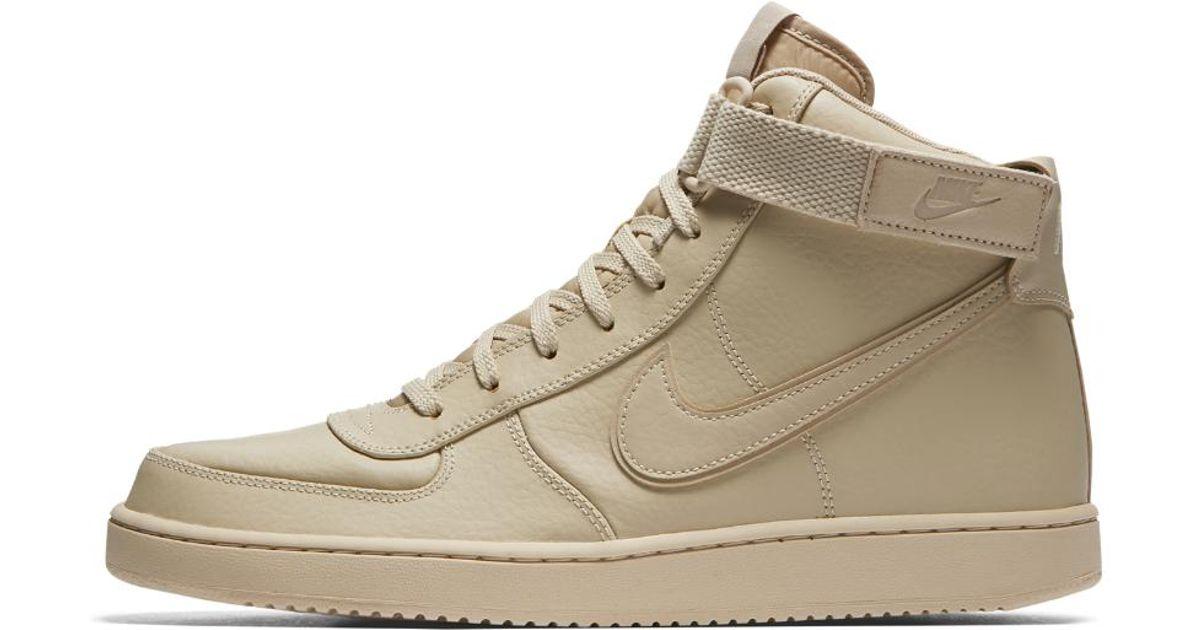 d539b1d5780 Lyst - Nike Vandal High Supreme Leather Men s Shoe in Natural for Men