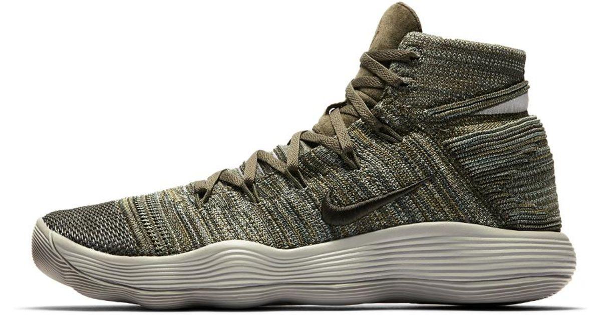 1cb8ec5c4e9f0 Lyst - Nike React Hyperdunk 2017 Flyknit Men s Basketball Shoe for Men