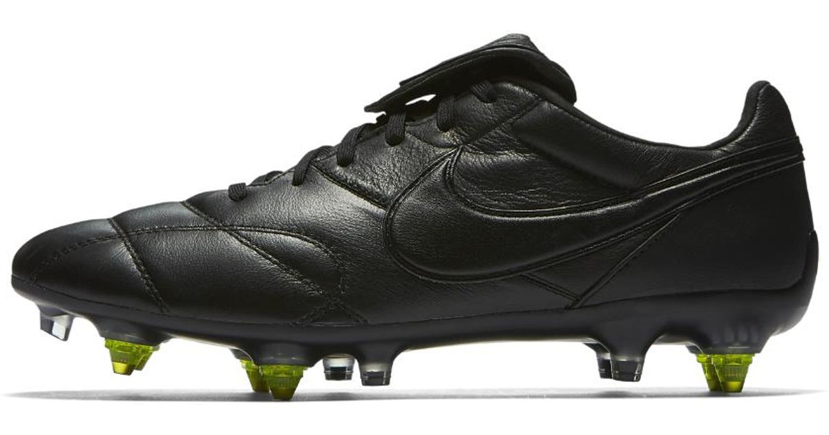 968baf83d77 Nike Premier Ii Anti-clog Traction Sg-pro Soft-ground Soccer Cleats in  Black for Men - Lyst