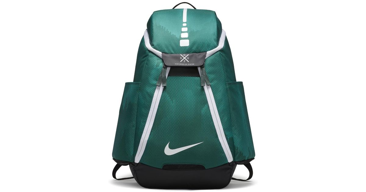 the best attitude d8dae 72792 Nike Hoops Elite Max Air Team 2.0 Graphic Basketball Backpack (green) in  Green for Men - Lyst