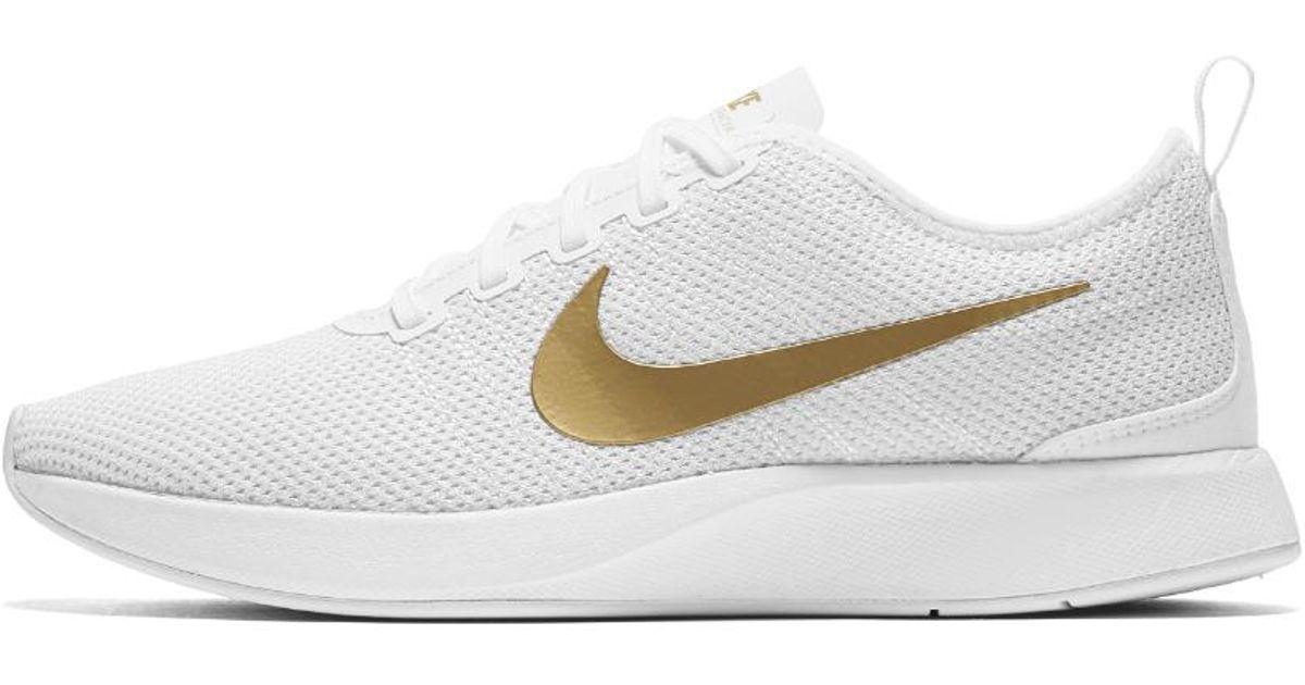 new product 4385c 028c3 Nike Dualtone Racer Se Women's Shoe in Metallic - Lyst