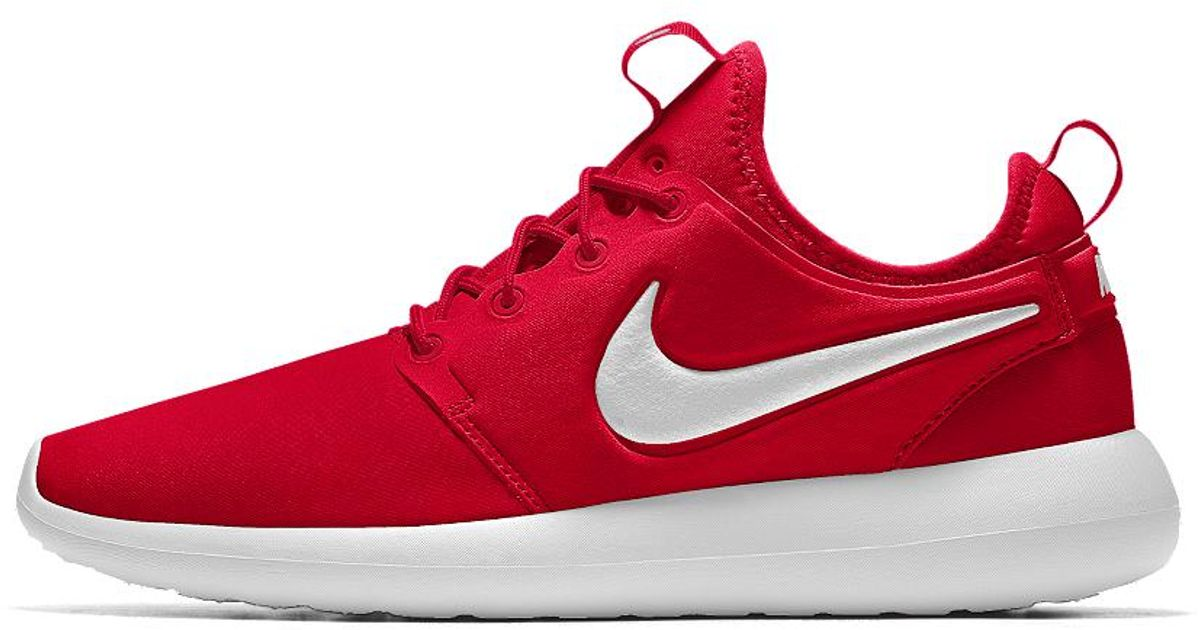 best website dcd51 5c30b Nike Roshe One Essential Id Women's Shoe in Red - Lyst
