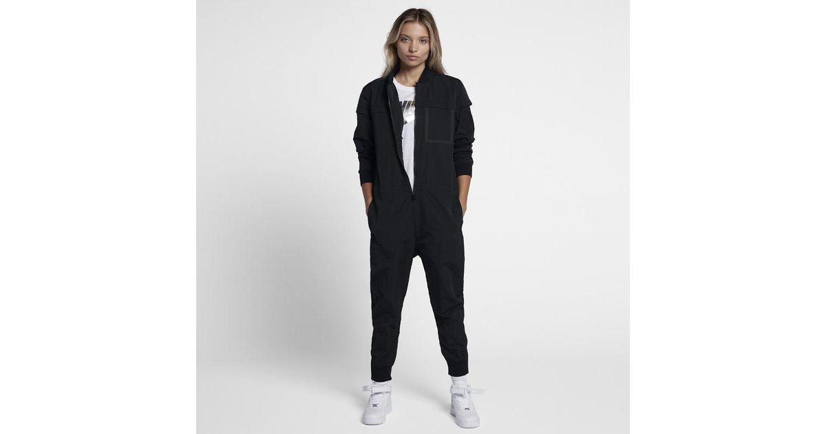 94123db1ef0 Lyst - Nike Air Women s Jumpsuit in Black