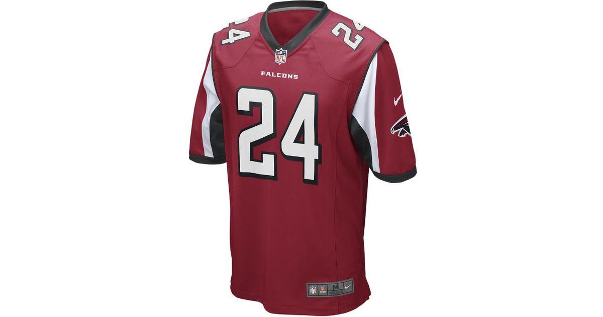 Lyst - Nike Nfl Atlanta Falcons (devonta Freeman) Men s Football Game Jersey  in Red for Men 34787811b