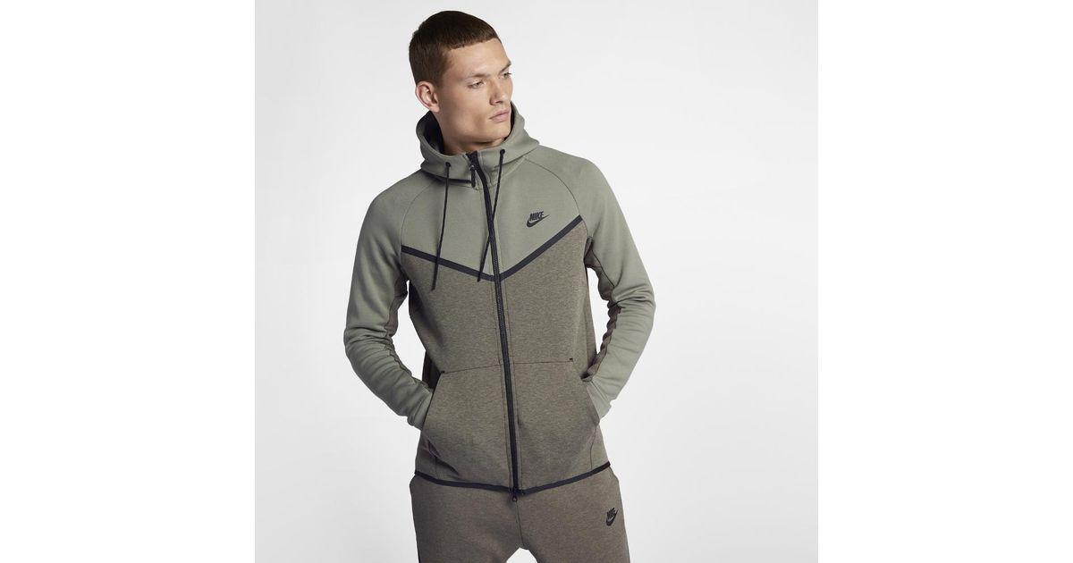 a7fea8c1e7186 Lyst - Nike Sportswear Tech Fleece Windrunner Men s Full-zip Hoodie for Men
