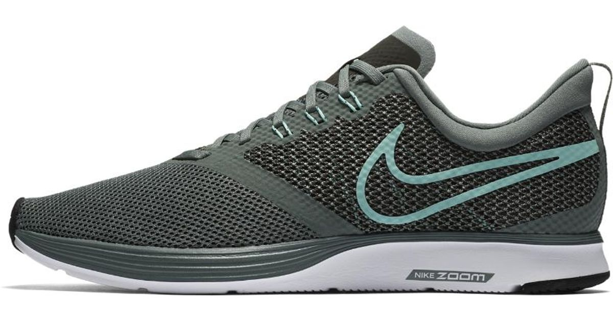 cf1263597a0b4 Lyst - Nike Zoom Strike Men s Running Shoe in Green for Men
