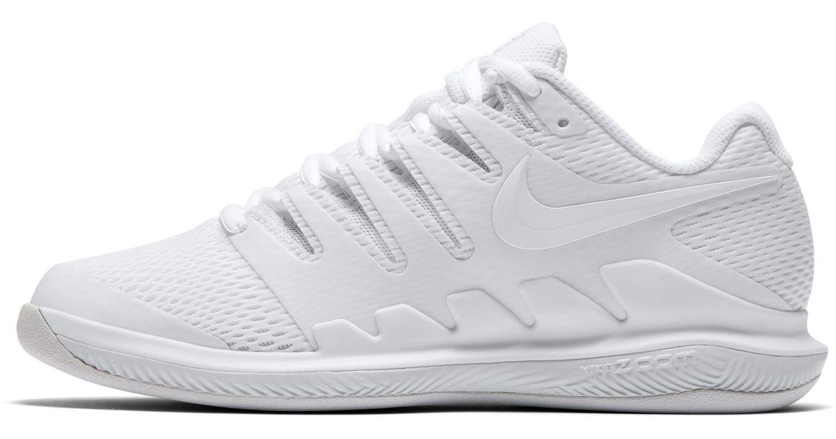 5892a44b5b126 Nike Air Zoom Vapor 10 Carpet Tennis Shoe in White - Lyst