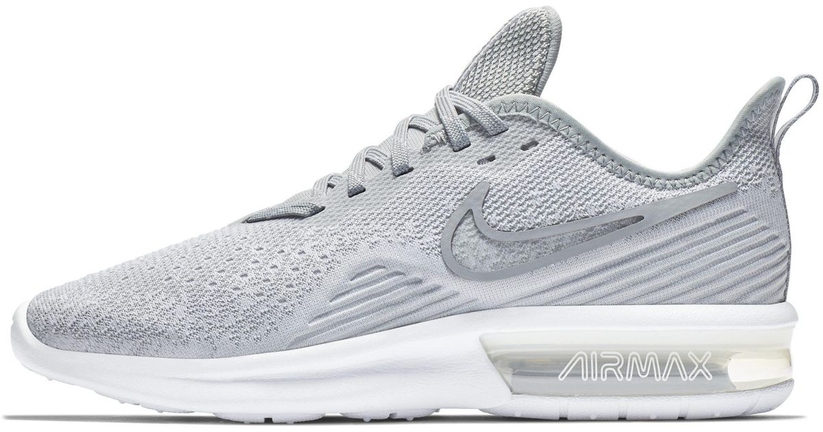 outlet store 6ee28 b4fa5 Lyst - Chaussure Air Max Sequent 4 pour Nike en coloris Blanc