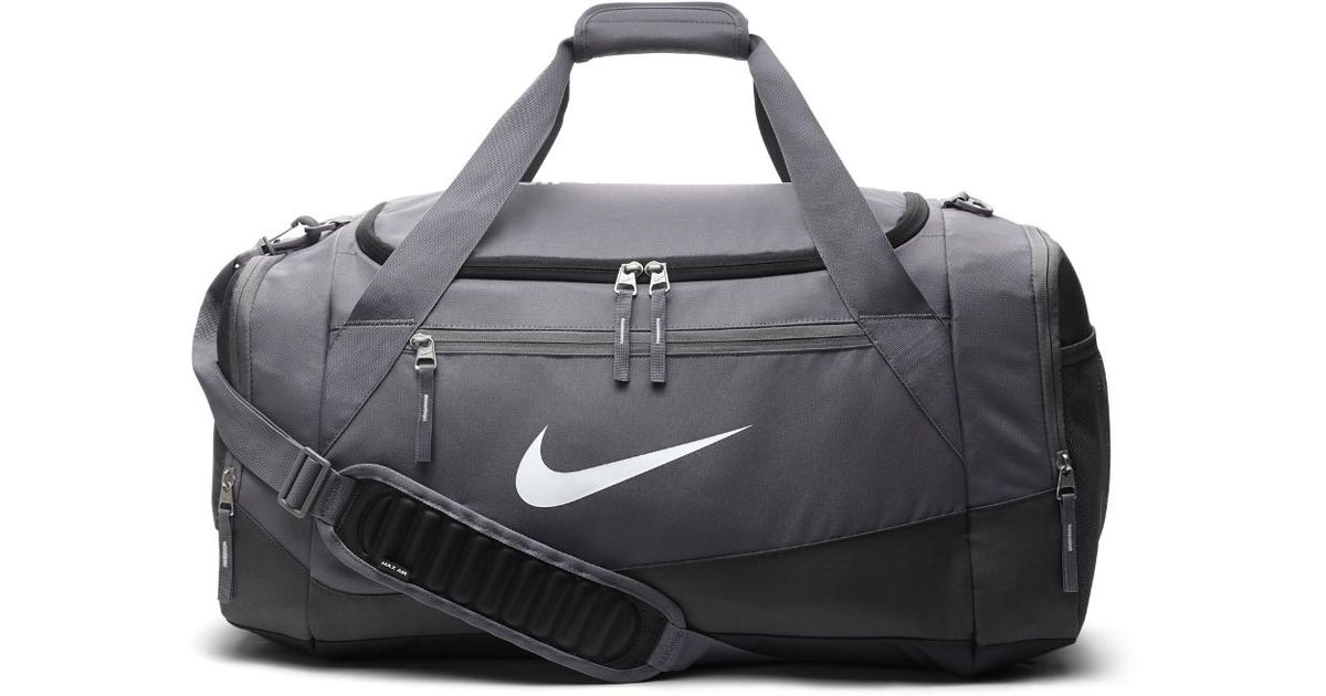 Lyst - Nike Hoops Elite Max Air Team (large) Duffel Bag (grey) in Gray for  Men 590b3b29c