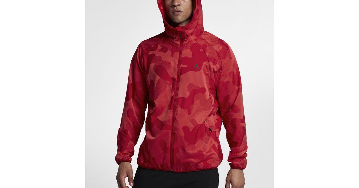 882040cd636f Lyst - Nike Sportswear Wings Camo Packable Windbreaker Men s Jacket ...