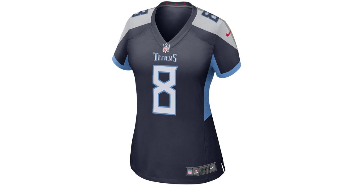 Lyst - Nike Nfl Tennessee Titans Color Rush Legend (marcus Mariota) Women s  Football Jersey in Blue d84a092f5