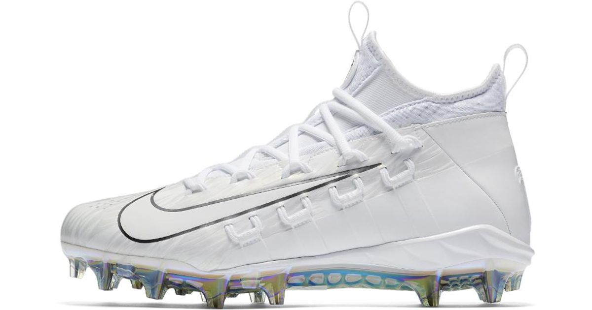 0bf8d85eb Lyst - Nike Alpha Huarache 6 Elite Lax Lacrosse Cleat in White for Men