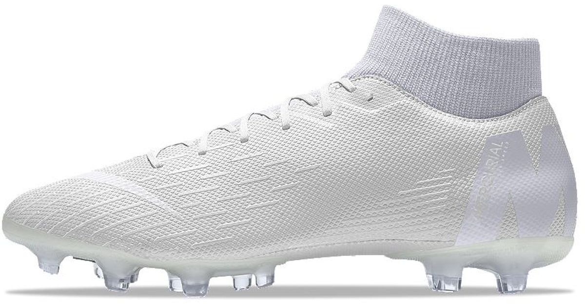 sports shoes 9d0ef ae617 Lyst - Nike Mercurial Superfly Vi Academy Mg Id Multi-ground Soccer Cleats  in Gray for Men