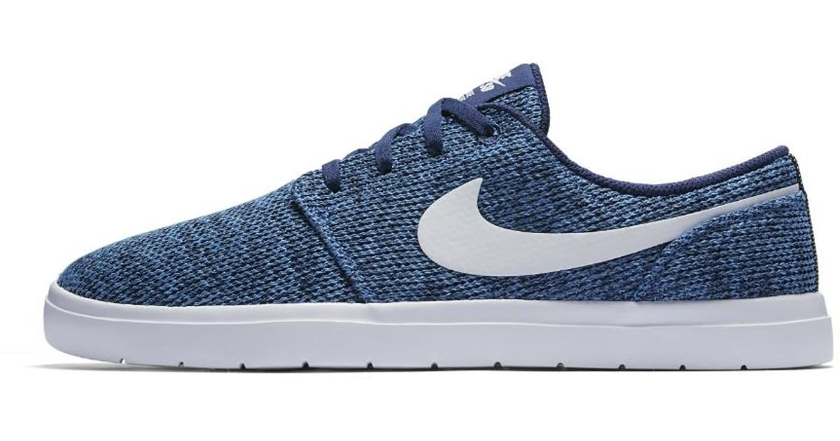 291e3117cb15 Lyst - Nike Sb Portmore Ii Ultralight Men s Skateboarding Shoe in Blue for  Men