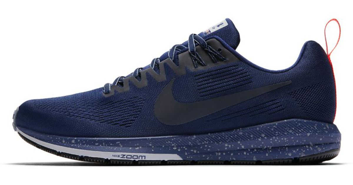 6301578265265 Lyst - Nike Air Zoom Structure 21 Shield Men s Running Shoe in Blue for Men