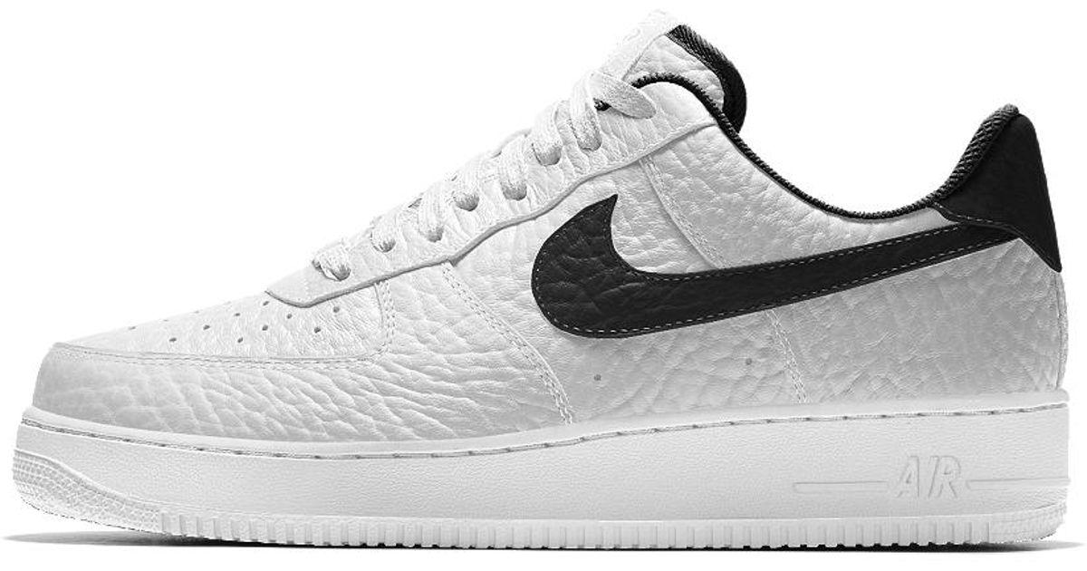 release date 336a9 542ec Nike Air Force 1 Low Premium Id (brooklyn Nets) Men s Shoe in White for Men  - Lyst