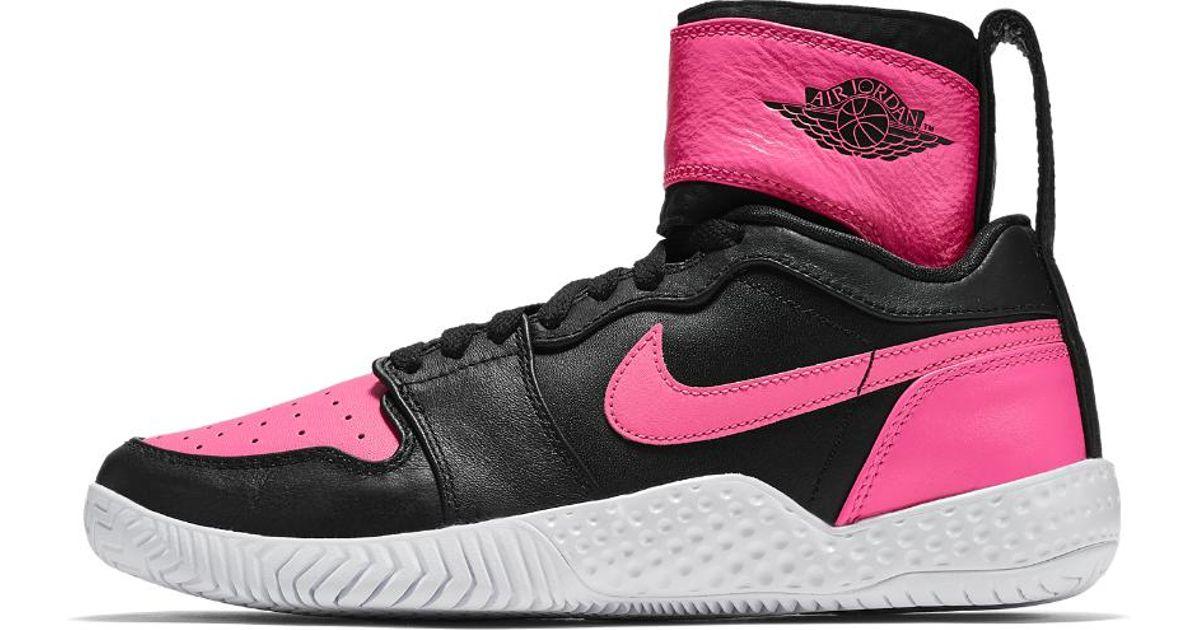 5043ebab19 Lyst - Nike Court Flare 23 Women s Tennis Shoe in White