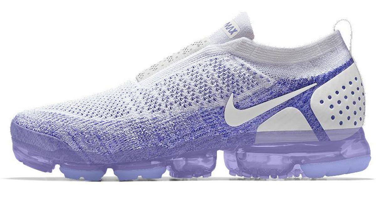 a08c8443d3d Lyst - Nike Air Vapormax Flyknit Moc 2 Id Women s Running Shoe in Purple