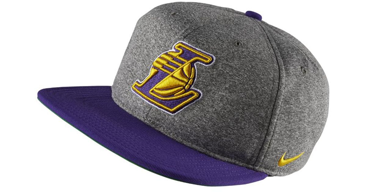 8b04efd2cb Nike Los Angeles Lakers Aerobill Nba Hat (grey) in Gray for Men - Lyst