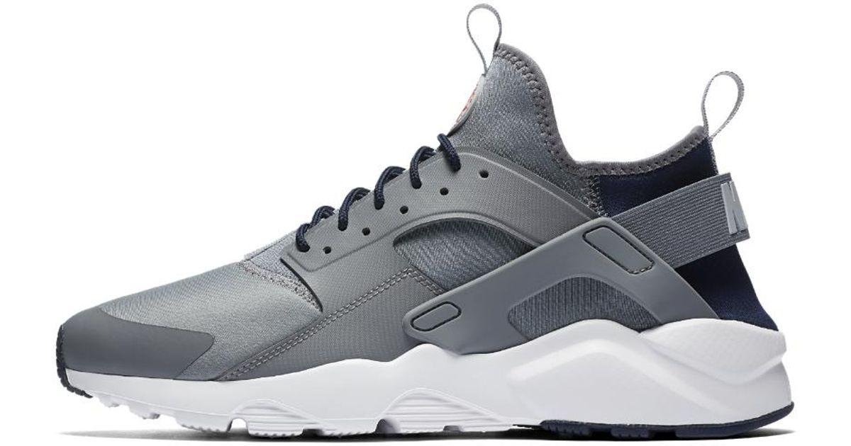 Lyst Nike Zapato Air Huarache Ultra Hombres Zapato Nike En Gris Para Hombres 02d755