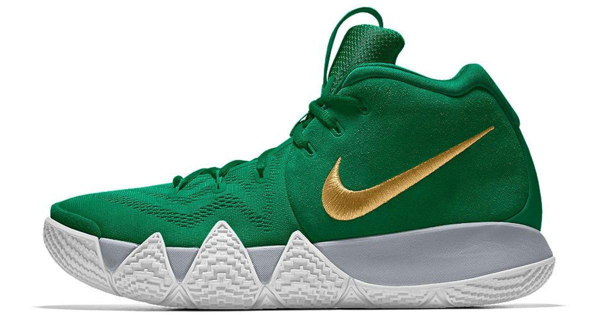 d7fe72ae9c9 ... coupon code for lyst nike kyrie 4 id mens basketball shoe in green for  men 817df