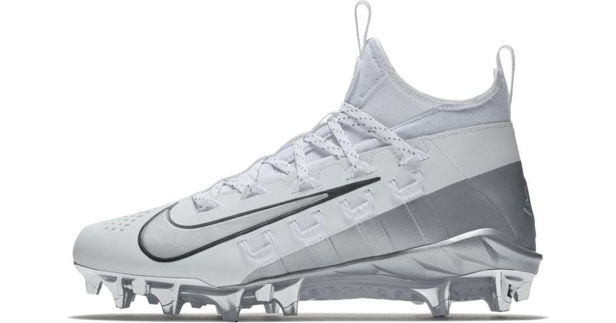 brand new 37958 cc4a1 Nike Alpha Huarache 6 Elite Lax Lacrosse Cleat in Metallic for Men - Lyst