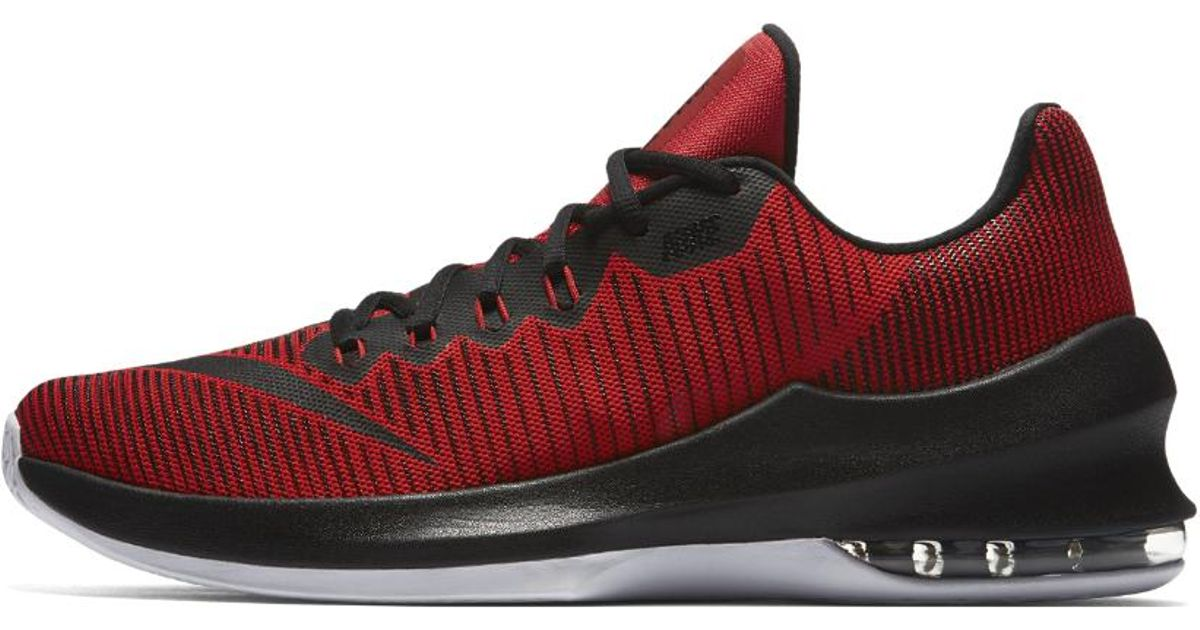 5d4d4a73973327 ... spain lyst nike air max infuriate 2 low mens basketball shoe in red for  men 9ea4c