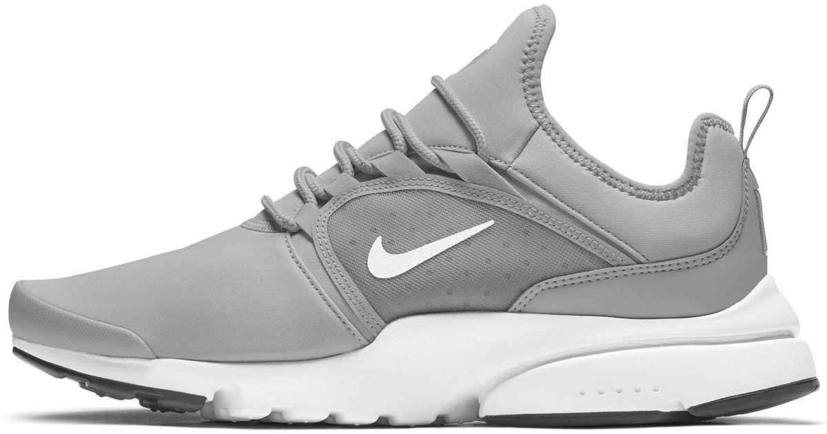 70b1fa7e14e Nike Presto Fly World Shoe in Gray for Men - Lyst