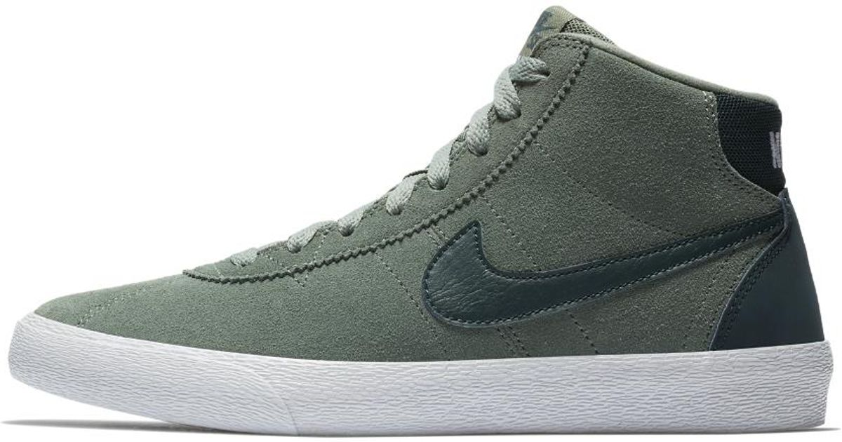 Lyst - Nike Sb Bruin High Women s Skateboarding Shoe in Green for Men 8ece677b4
