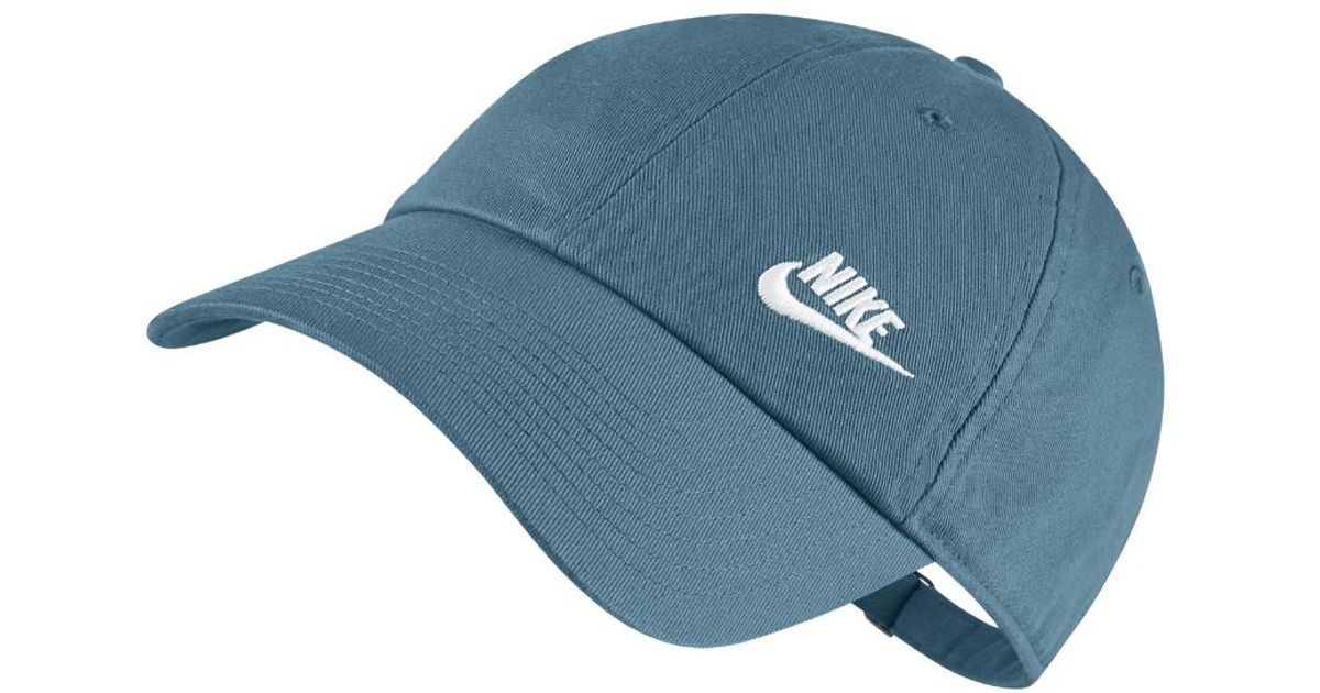 4789739b0e54 Lyst - Nike Twill H86 Adjustable Hat (blue) in Blue for Men