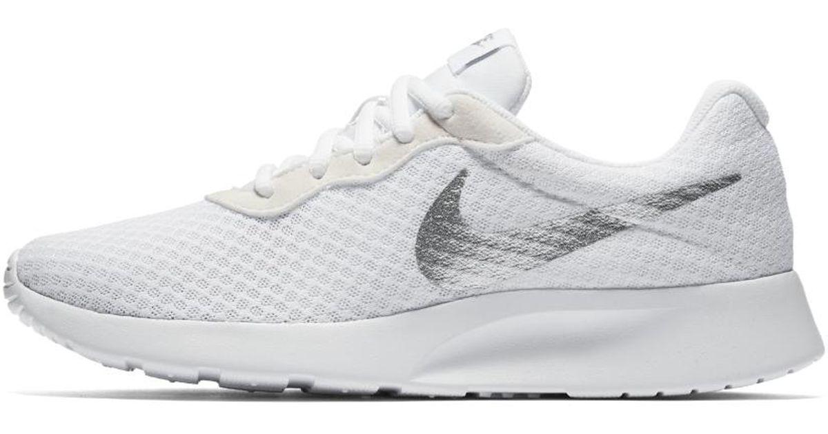 a300a58241ad switzerland silver white womens nike tanjun racer shoes c5802 b35ba