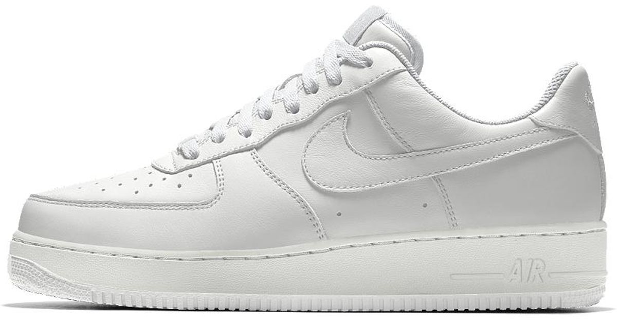 timeless design 3acf1 3d6e6 Lyst - Nike Air Force 1 Low Id Men s Shoe in White for Men
