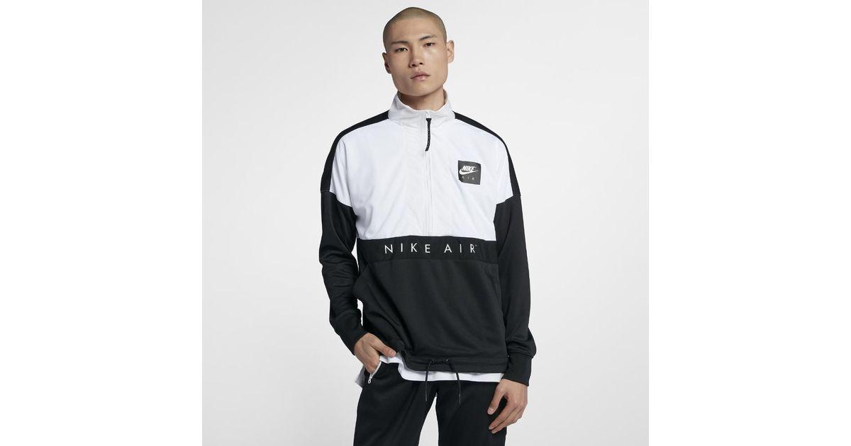 In For Top Lyst Zip Men's Half Men Nike Air Black TJlF3K1c