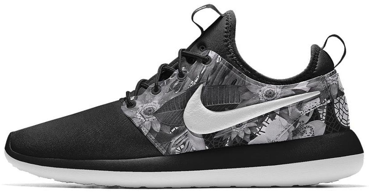 3876ae343f80 Lyst - Nike Roshe Two Id Men s Shoe in Gray for Men