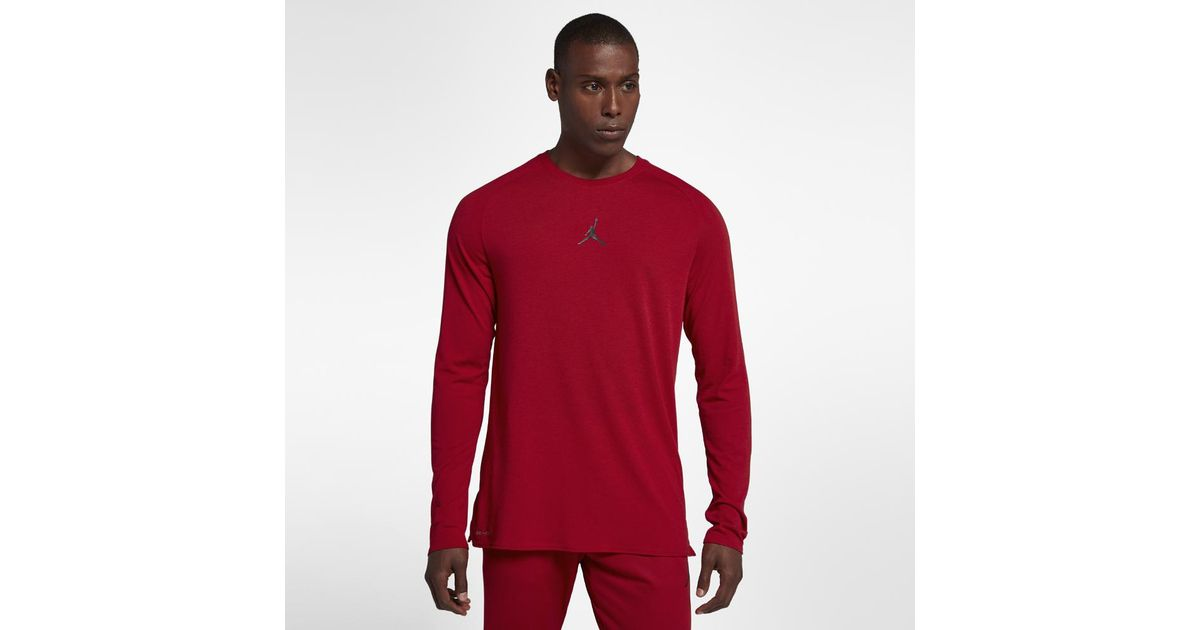aa1fc9efa4 Nike - Red Dri-fit 23 Alpha Men's Long Sleeve Training Top, By Nike for Men  - Lyst