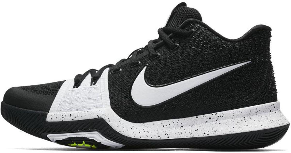 9207522fb1f3 Nike Kyrie 3 Tb Men s Basketball Shoe in Black for Men - Lyst