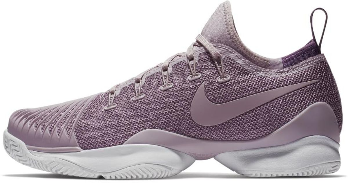 quality design f0b43 6a979 Nike Court Air Zoom Ultra React Hc Women's Tennis Shoe in Purple - Lyst