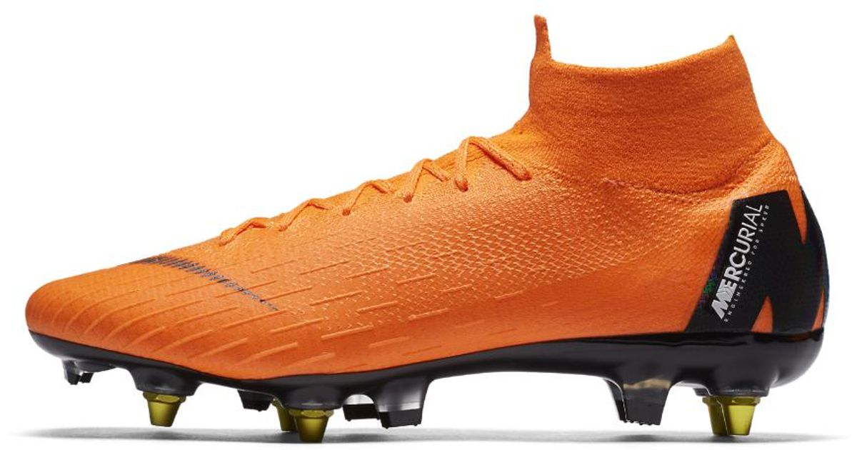 f7947719f0a Nike Mercurial Superfly 360 Elite Sg-pro Anti-clog Soft-ground Soccer Cleats  in Orange for Men - Lyst
